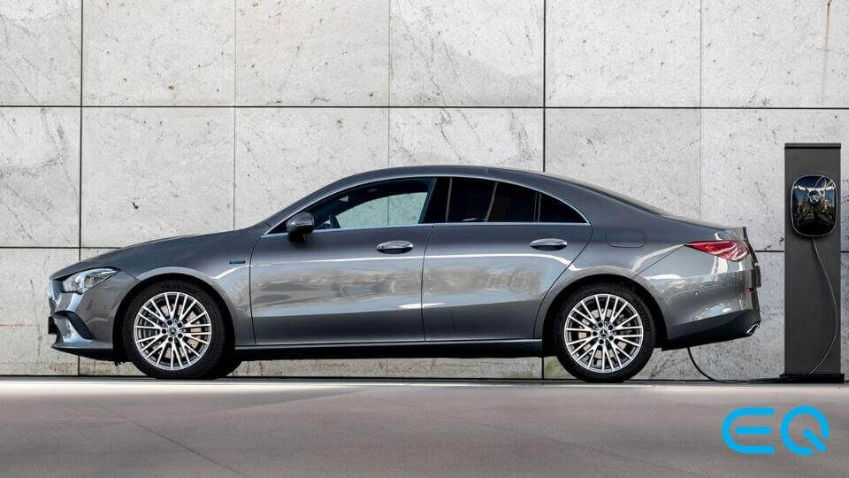 Mercedes-Benz CLA Coupe Plug-in Hybrid EQ power