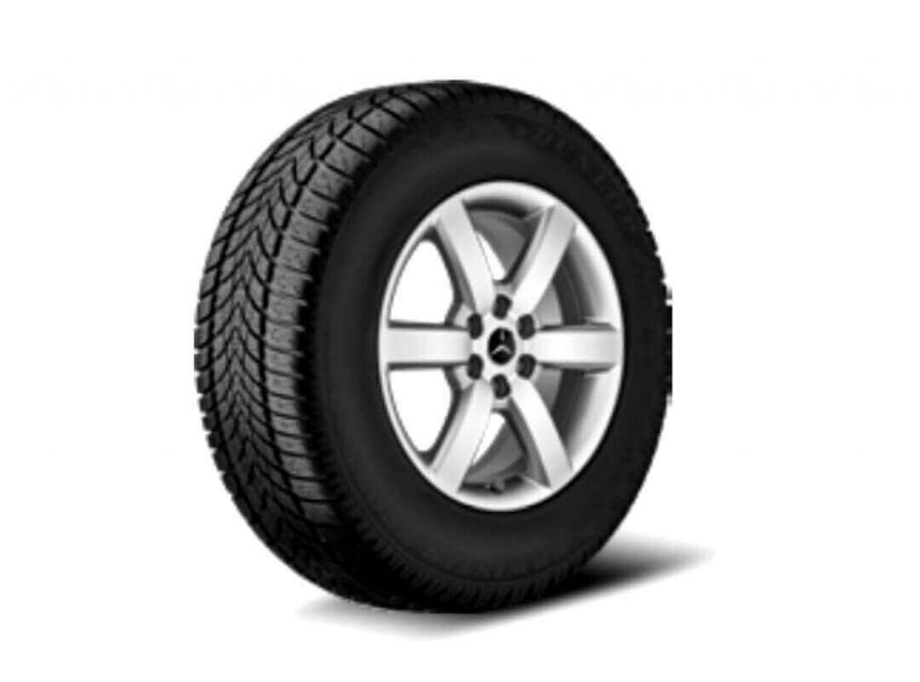 roata de iarna MERCEDES-BENZ X-CLASS 470 6-spoke wheel Pirelli Scorpion Winter MO-V