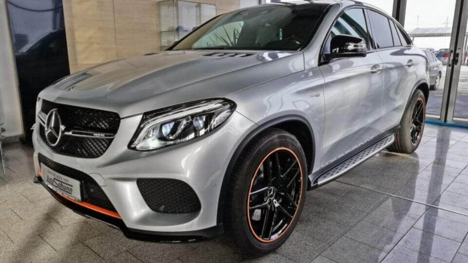 Mercedes-Benz GLE 43 AMG Coupe 4Matic OrangeArt Edition PANO
